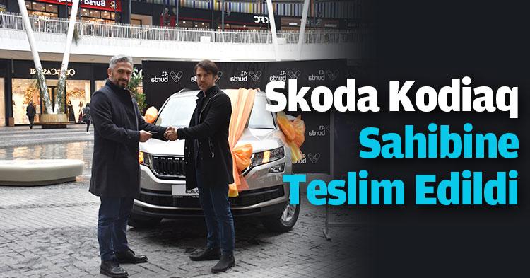 Skoda Kodiaq Sahibine Teslim Edildi